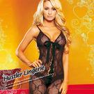 美國Hustler-媚舞俏妞!注目蕾絲綁帶,縷空織花華麗一件式連身裝HH10