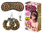 日本A-ONE-SM豹紋眼罩+手拷組