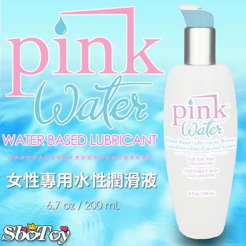 美國Pink-Water 水溶性潤滑液 200ML/6.7oz