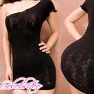 美國selebritee-性感斜肩小洋裝晚禮服215黑