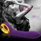 Isla 時尚精品智能按摩棒-夢幻紫