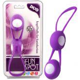 玩樂性愛防水DUO聰明球-紫