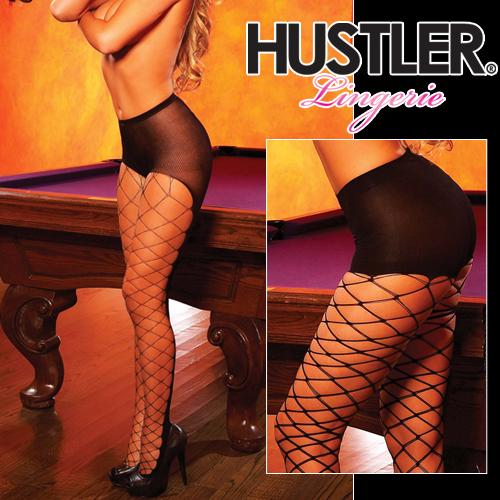 美國Hustler-晨艷之最!愛戀連身網襪-HH23