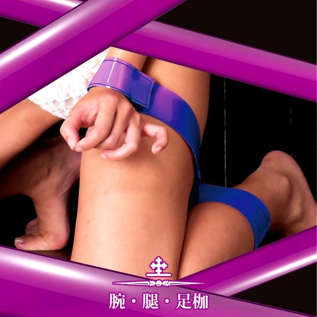日本Wins-Castle精選(腕.腿.足枷)-紫