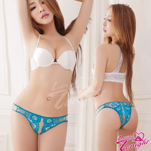 Sexy性感-開襠內褲(愛在今夜)T5171-藍