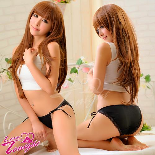 Sexy性感-▲內褲(愛在今夜)T5115-黑綁帶
