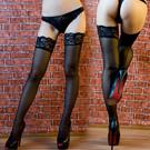 美國selebritee-蝴蝶背線大腿蕾絲襪-2040081