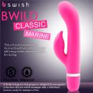美國Bswish-Bwild Classic Marine 狂野海洋陸戰隊5段變頻按摩棒-粉色