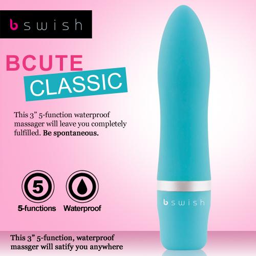 美國Bswish-Bcute Classic 第3代 5段變頻經典款按摩器-翡翠綠