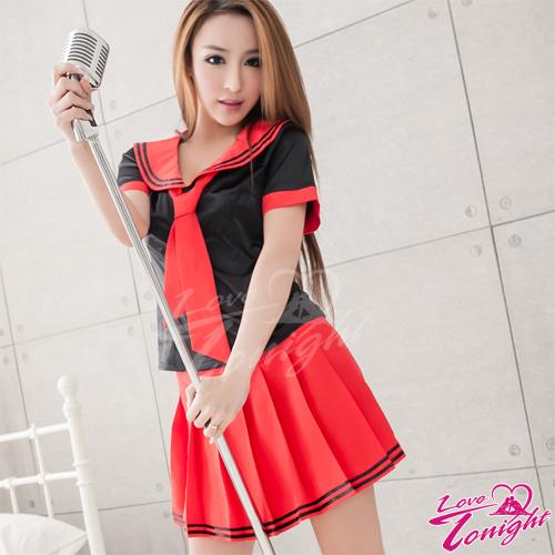 Sexy性感-學生服(愛在今夜)T9246-黑-F