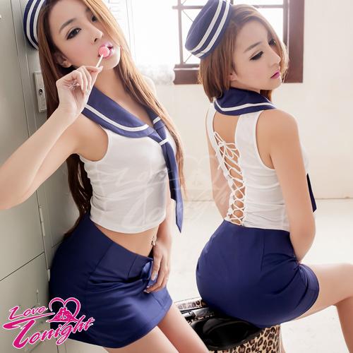 Sexy性感-海軍服(愛在今夜)T9252-白-F