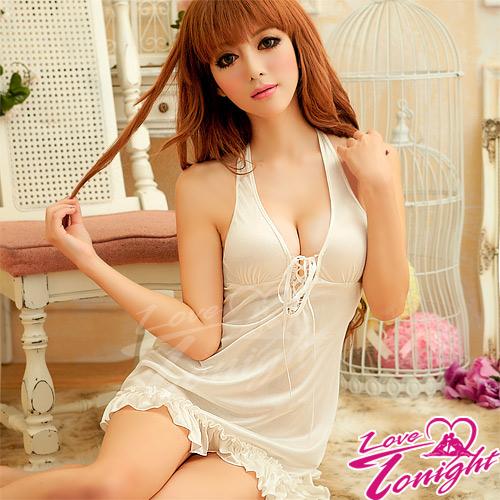 Sexy性感-睡衣(愛在今夜)T1353-白-F