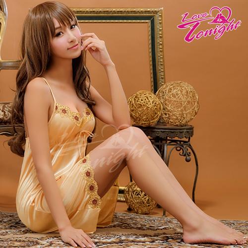 Sexy性感-睡衣(愛在今夜)T1356-金-F