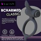美國BSwish-Bcharmed Classic著迷經典型5段變頻震動環-黑色
