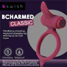 美國BSwish-Bcharmed Classic著迷經典型5段變頻震動環-梅酒色