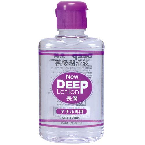日本NPG*NEW DEEP ローション 長潤 アナル専用 潤滑液_120ml