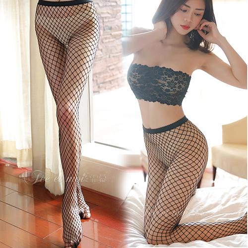 迷網之愛-超性感全彈性網襪-中大網