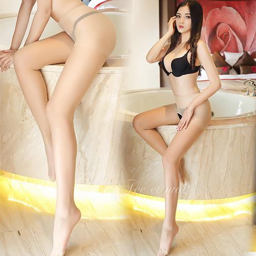 顯瘦性感誘惑修身款前後開檔絲襪 褲襪-膚