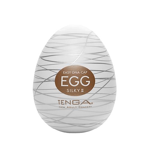 日本TENGA-EGG-018 SILKY II 絲柔型自慰蛋