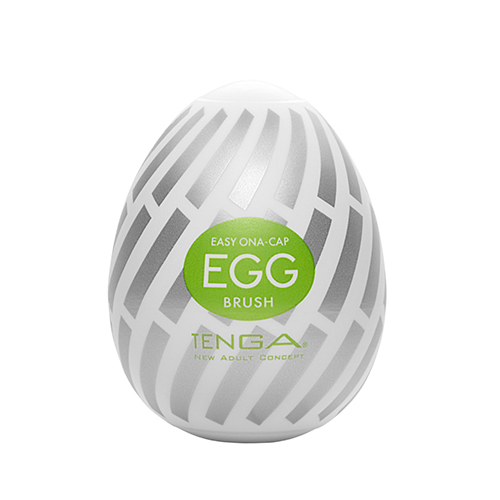 日本TENGA-EGG-015 BRUSH 長型刷頭型自慰蛋