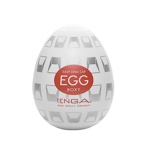 日本TENGA-EGG-014 BOXY 立體箱型自慰蛋