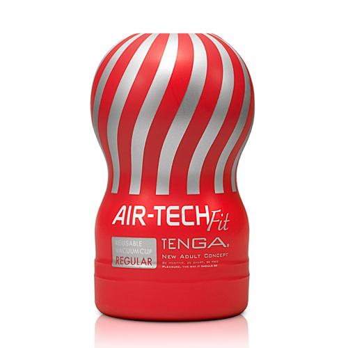 日本TENGA-AIR-TECH FIT 空壓旋風自慰杯-紅 ATF-001R