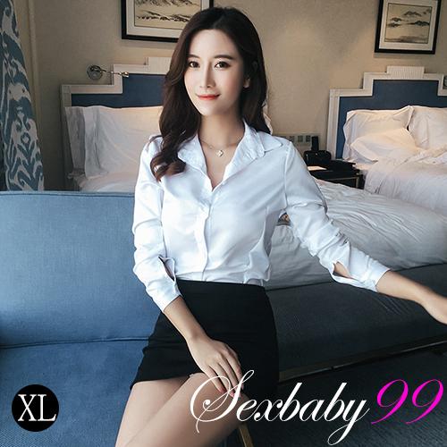 情誘上司-性感OL包臀短裙角色扮演-XL號